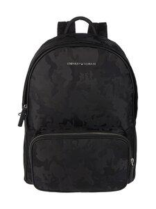 Emporio Armani - Reppu - 85149 BLACK/BLACK CAMOU | Stockmann