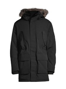 Jack & Jones - JcoMeyland Parka -takki - BLACK | Stockmann