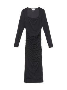 Ganni - Dotted Mesh Dress -mekko - BLACK | Stockmann