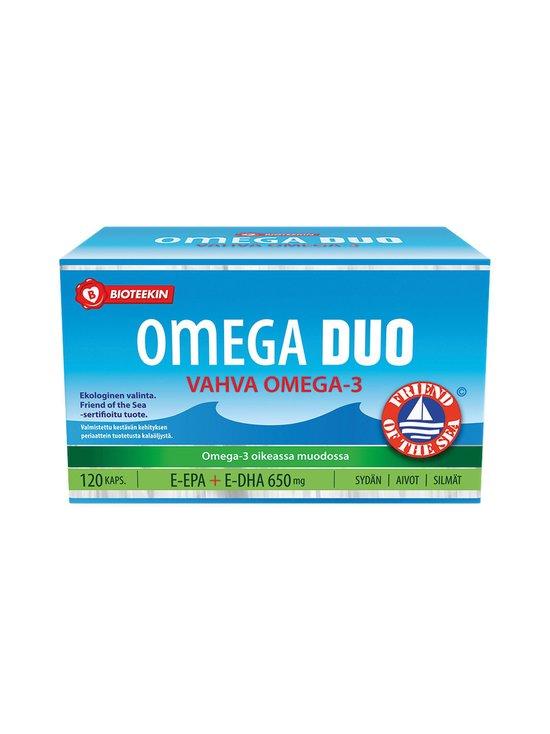 Bioteekki - Omega DUO 650 mg -kalaöljyvalmiste 120 kaps./170 g - null | Stockmann - photo 1