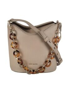 Ted Baker London - Brookk Resin Chain Mini Bucket Bag -nahkalaukku - 92 IVORY | Stockmann