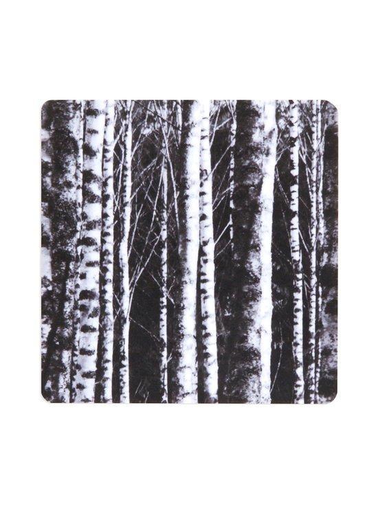 MIIKO - Koivut-lasinalunen 10 x 10 cm - MUSTA/VALKOINEN | Stockmann - photo 1