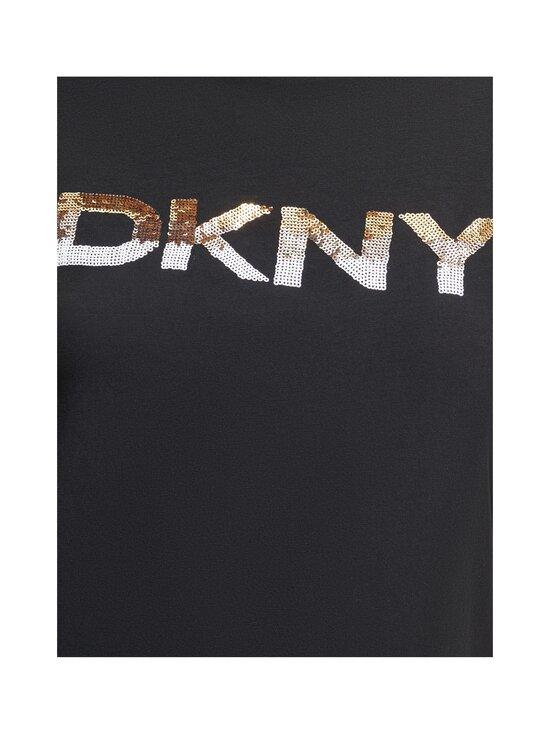 Dkny - T-Shirt Logo SS -paita - BGD - BLK/GOLD | Stockmann - photo 4