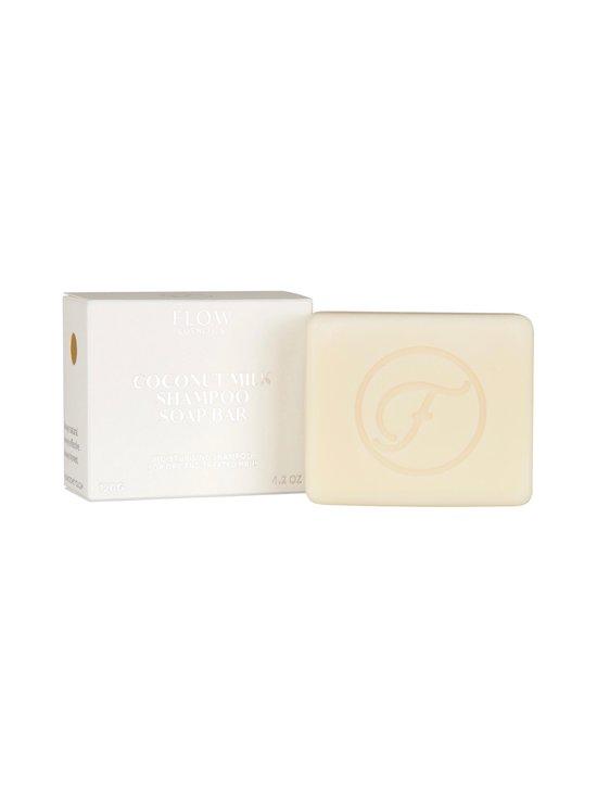 Flow Cosmetics - Coconut Milk Shampoo Soap Bar -palashampoo 120 g - NOCOL | Stockmann - photo 1