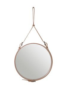 Gubi - Adnet Wall Mirror Circular -peili ⌀ 58 cm - TAN LEATHER | Stockmann