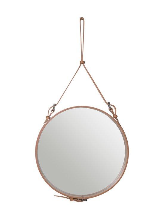 Gubi - Adnet Wall Mirror Circular -peili ⌀ 58 cm - TAN LEATHER | Stockmann - photo 1