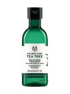 The Body Shop - Tea Tree Skin Clearing Facial Wash -kasvojenpuhdistusaine 250 ml | Stockmann
