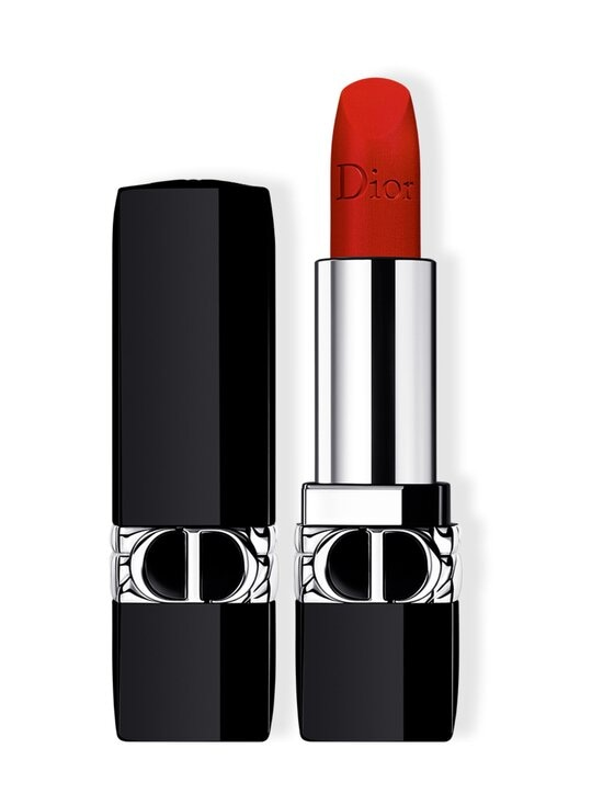 DIOR - Rouge Dior Refillable Lipstick -huulipuna 3.5 g - 999 | Stockmann - photo 1