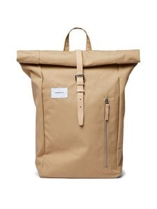 Sandqvist - Dante-reppu - BEIGE WITH NATURAL LEATHER | Stockmann