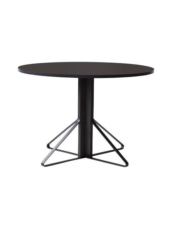 Artek - REB004 Kaari -pöytä, linoleum - BLACK LINOLEUM/BLACK OAK (MUSTA)   Stockmann - photo 1
