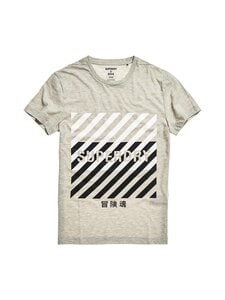 Superdry Sport - Training Coresport Graphic Tee -paita - 07Q GREY MARL | Stockmann