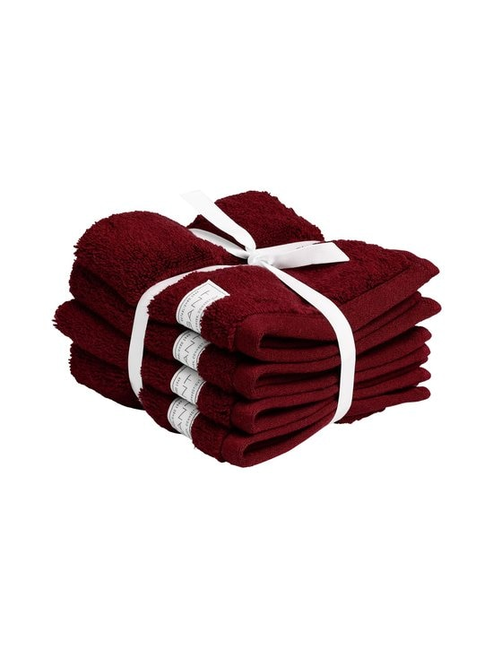 Gant Home - Organic Premium -pyyhe 30 x 50 cm - 645 DARK RED | Stockmann - photo 1