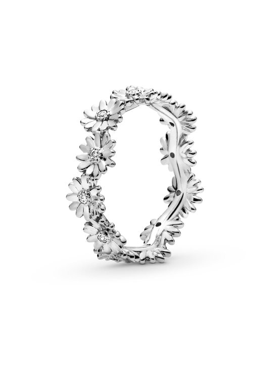 Pandora - Daisy Sterling Silver Ring -sormus - CLEAR   Stockmann - photo 1