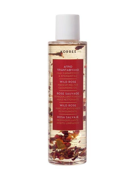 Korres - Wild Rose Wild Rose Cleansing Demakeup Oil -puhdistusöljy 150 ml - NOCOL | Stockmann - photo 1