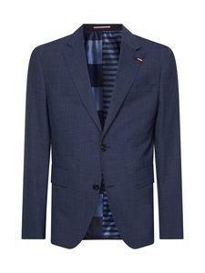 Tommy Hilfiger Tailored - TH Flex Slim Fit -bleiseri - 0YP DESSERT SKY/NAVY MELANGE | Stockmann