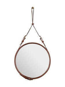 Gubi - Adnet Wall Mirror Circular -peili ⌀ 45 cm - TAN LEATHER | Stockmann
