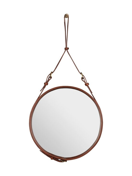 Gubi - Adnet Wall Mirror Circular -peili ⌀ 45 cm - TAN LEATHER | Stockmann - photo 1