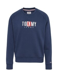 Tommy Jeans - Timeless Box Sweatshirt -collegepaita - C87 TWILIGHT NAVY | Stockmann