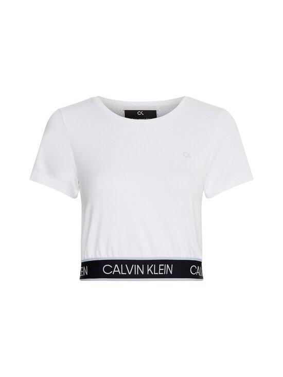 Calvin Klein Performance - Mesh Back Cropp -paita - WHITE | Stockmann - photo 1