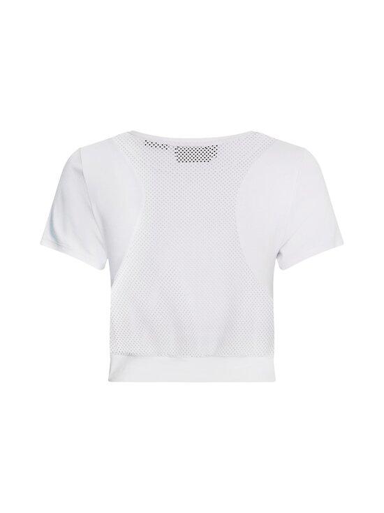 Calvin Klein Performance - Mesh Back Cropp -paita - WHITE | Stockmann - photo 2