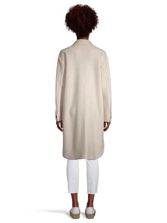 Marc O'Polo - Boiled wool shirt coat -takki - 132 NATURAL WHITE   Stockmann - photo 3