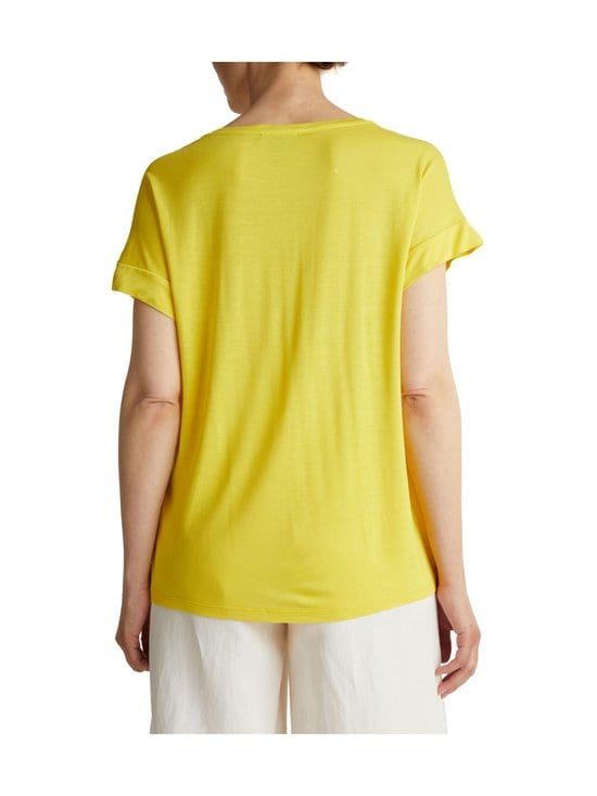 Esprit - T-paita - 750 YELLOW | Stockmann - photo 4