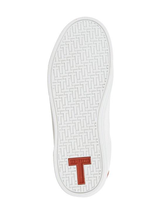 Ted Baker London - Ottoli Perforated T Detail -nahkasneakerit - 99 WHITE | Stockmann - photo 3