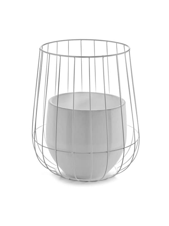 Serax - Pot in a Cage -ruukku 37 x 46 cm - VALKOINEN   Stockmann - photo 1
