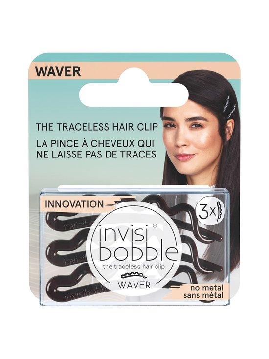 Invisibobble - WAVER Hair Clip -hiuspinni 3 kpl - PRETTY DARK | Stockmann - photo 1