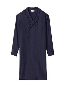 Kenzo - Long Shirt Jacket -takki - 76 - FLUID TWILL - NAVY BLUE | Stockmann