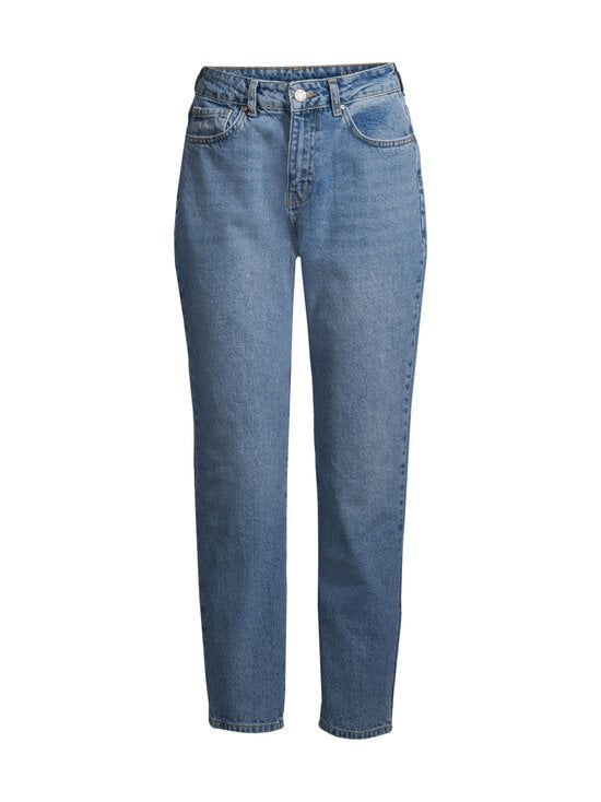 Noisy may - NmIsabel HW Ankle Mon Jeans -farkut - MEDIUM BLUE DENIM | Stockmann - photo 1