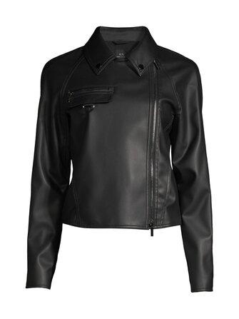 Biker Jacket imitation leather jacket - ARMANI EXCHANGE