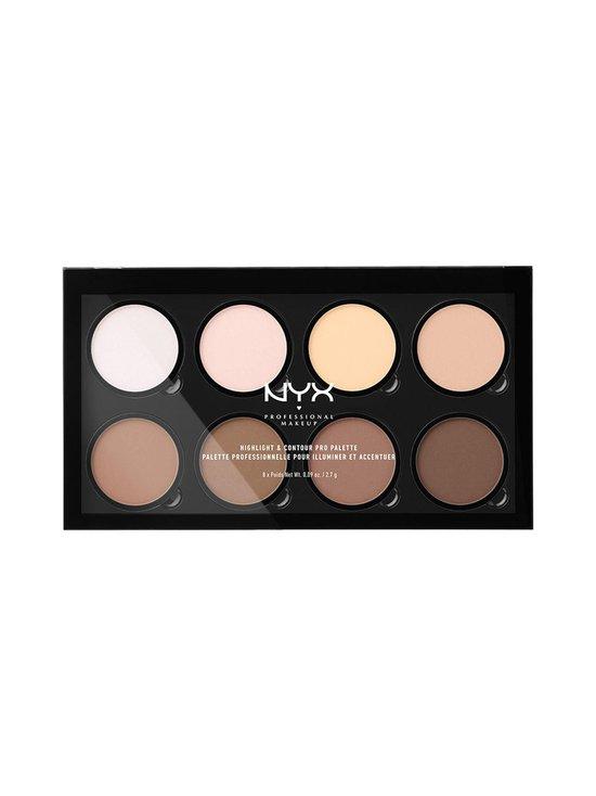 NYX Professional Makeup - Highlight & Contour Pro Palette -korostus- ja varjostuspaletti 16,2 g - 1 | Stockmann - photo 1
