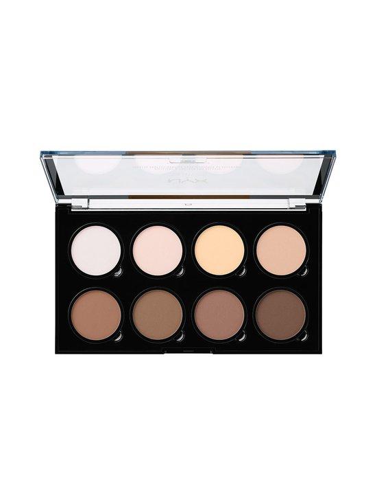 NYX Professional Makeup - Highlight & Contour Pro Palette -korostus- ja varjostuspaletti 16,2 g - 1 | Stockmann - photo 2