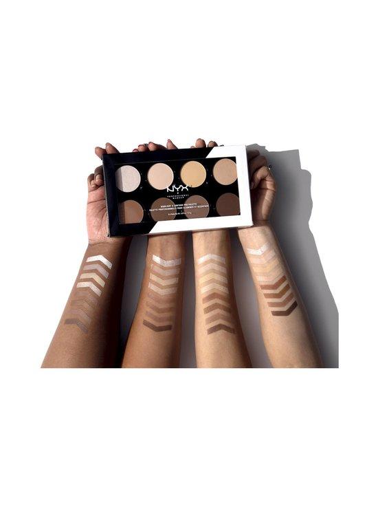 NYX Professional Makeup - Highlight & Contour Pro Palette -korostus- ja varjostuspaletti 16,2 g - 1 | Stockmann - photo 4