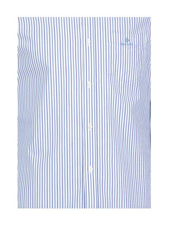 GANT - Regular Fit Stripe Broadcloth -kauluspaita - 416 CLEAR BLUE | Stockmann - photo 3