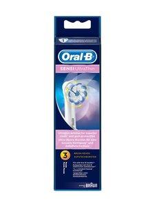 Oral-B - Sensi UltraThin Spare Brush -harjaspäät 3 kpl - VALKOINEN | Stockmann