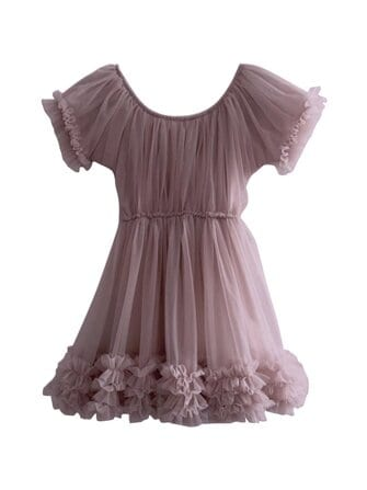 Frilly dress - DOLLY by Le Petit Tom