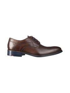Lloyd - Gavino Derby Dress Shoe Perforated -nahkakengät - 13 CIOCCOLATO | Stockmann