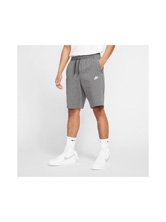 Nike - Sportswear Club Fleece -shortsit - 071 CHARCOAL HEATHR/WHITE   Stockmann - photo 3