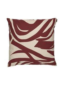 Marimekko - Jokuraita-tyynynpäällinen 50 x 50 cm - 881 BEIGE, BROWN | Stockmann