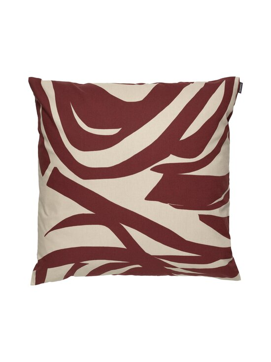 Marimekko - Jokuraita-tyynynpäällinen 50 x 50 cm - 881 BEIGE, BROWN | Stockmann - photo 1