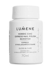 Lumene - Nordic Chic Express Nail Polish Remover -kynsilakanpoistoaine 70 ml - null | Stockmann