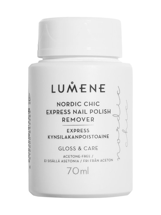 Nordic Chic Express Nail Polish Remover -kynsilakanpoistoaine 70 ml