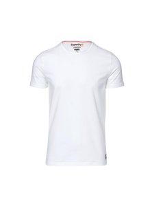 Superdry - Slim Tee -paita 3-pack - LAUNDRYWHITE | Stockmann