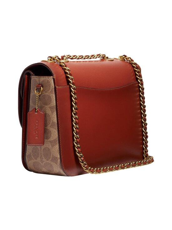 Coach - Madison Shoulder Bag In Signature Canvas -laukku - B4NQ4 B4/TAN RUST | Stockmann - photo 3