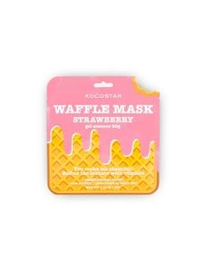 KOCOSTAR - Waffle Mask Strawberry -kangasnaamio | Stockmann