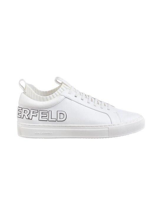 Karl Lagerfeld - Kupsole Trace Logo -nahkasneakerit - WHITE 011 | Stockmann - photo 1