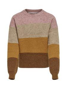 KIDS ONLY - KonSandy L/S Stripe Pullover -neule - DUSTY ROSE | Stockmann