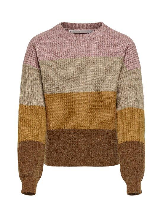 KIDS ONLY - KonSandy L/S Stripe Pullover -neule - DUSTY ROSE | Stockmann - photo 1